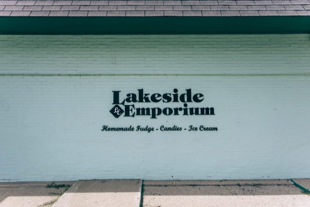 Lakeside Emporium facade   Photo by Gideon Hunter