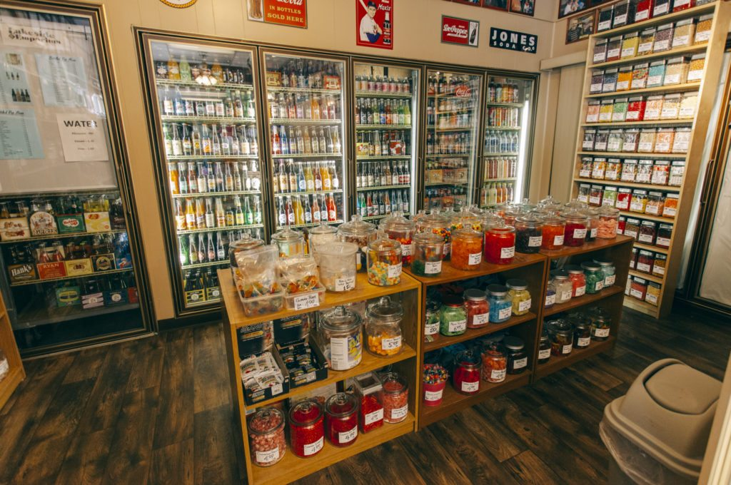 Lakeside Emporium has a wide selection of candy   Photo by Gideon Hunter