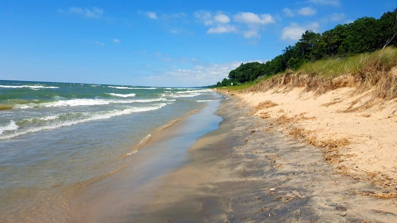 How Close Is Traverse City To Grand Beach