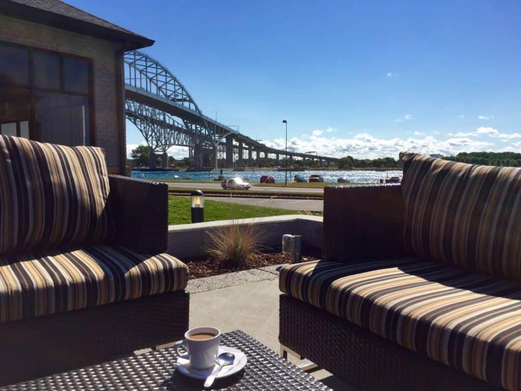 Freighters, Bluewater Bridge, Port Huron - Joel Heckaman - The Awesome Mitten