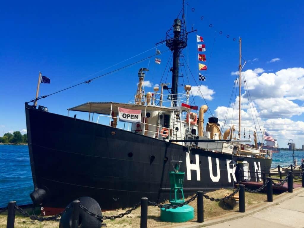 Huron Lightship Museum, Port Huron - Joel Heckaman - The Awesome Mitten