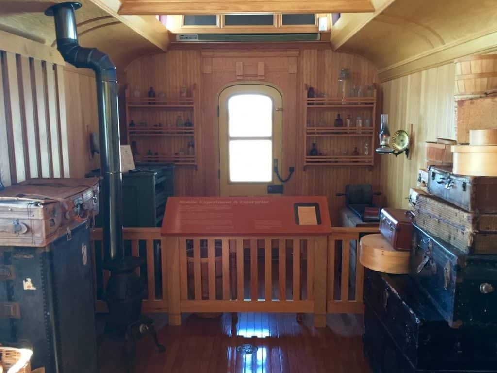 Grand Trunk Railway Car, Thomas Edison Depot Museum, Port Huron - Joel Heckaman - The Awesome Mitten