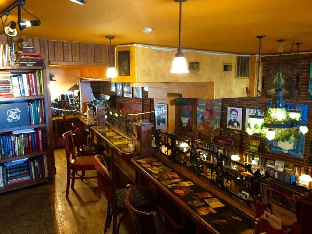 Raven Cafe, Edgar Allen Poe, Port Huron - Joel Heckaman - The Awesome Mitten