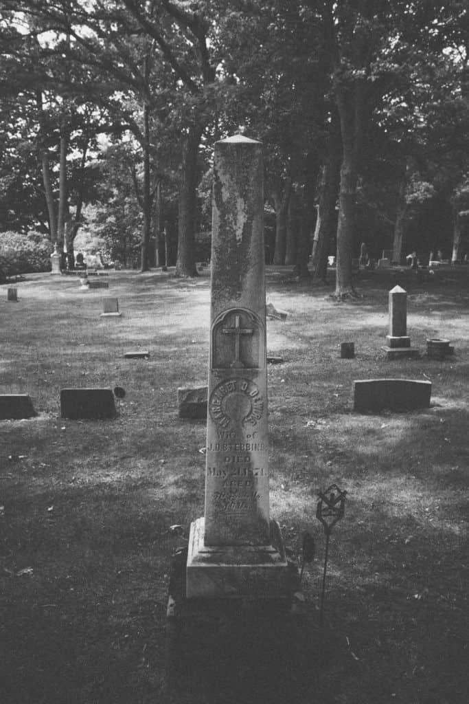 Oakhurst Cemetery   Photo by Gideon Hunter