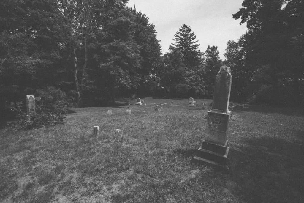 Nunica Headstones   Photo by Gideon Hunter