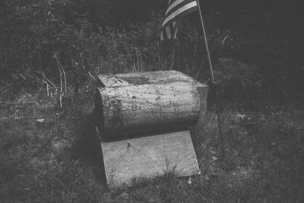 Nunica Headstone | Photo by Gideon Hunter