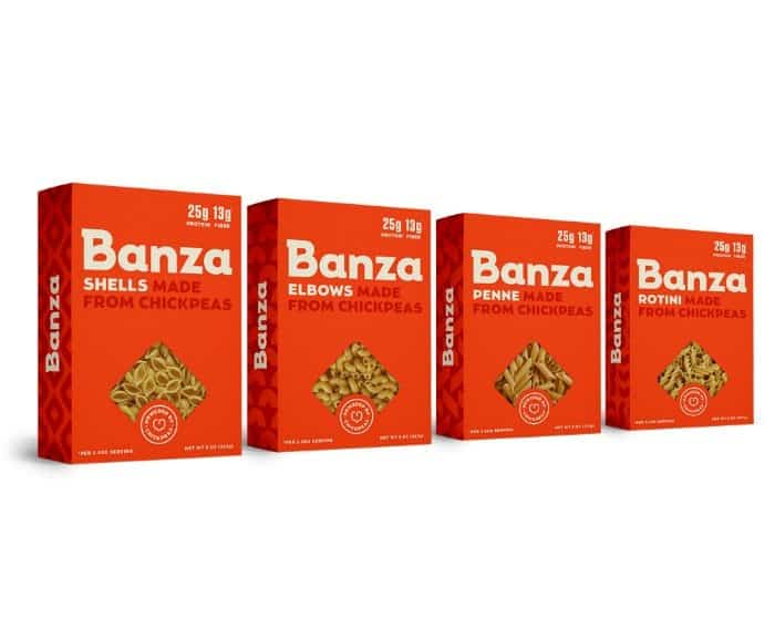 Banza pasta noodles - The Awesome Mitten