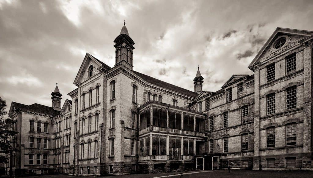 Traverse City State Hospital - The Awesome Mitten