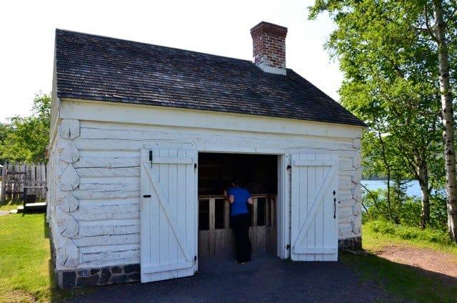 Fort Wilkins State Park Jesse3 Camp at Fort Wilkins Historic State Park