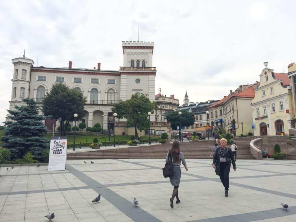 The 14th century Castle of Sułkowski Dukes. Photo courtesy of Jennifer Polasek.