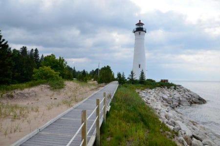 Crisp Point Lighthouse | Whitefish Point, Michigan
