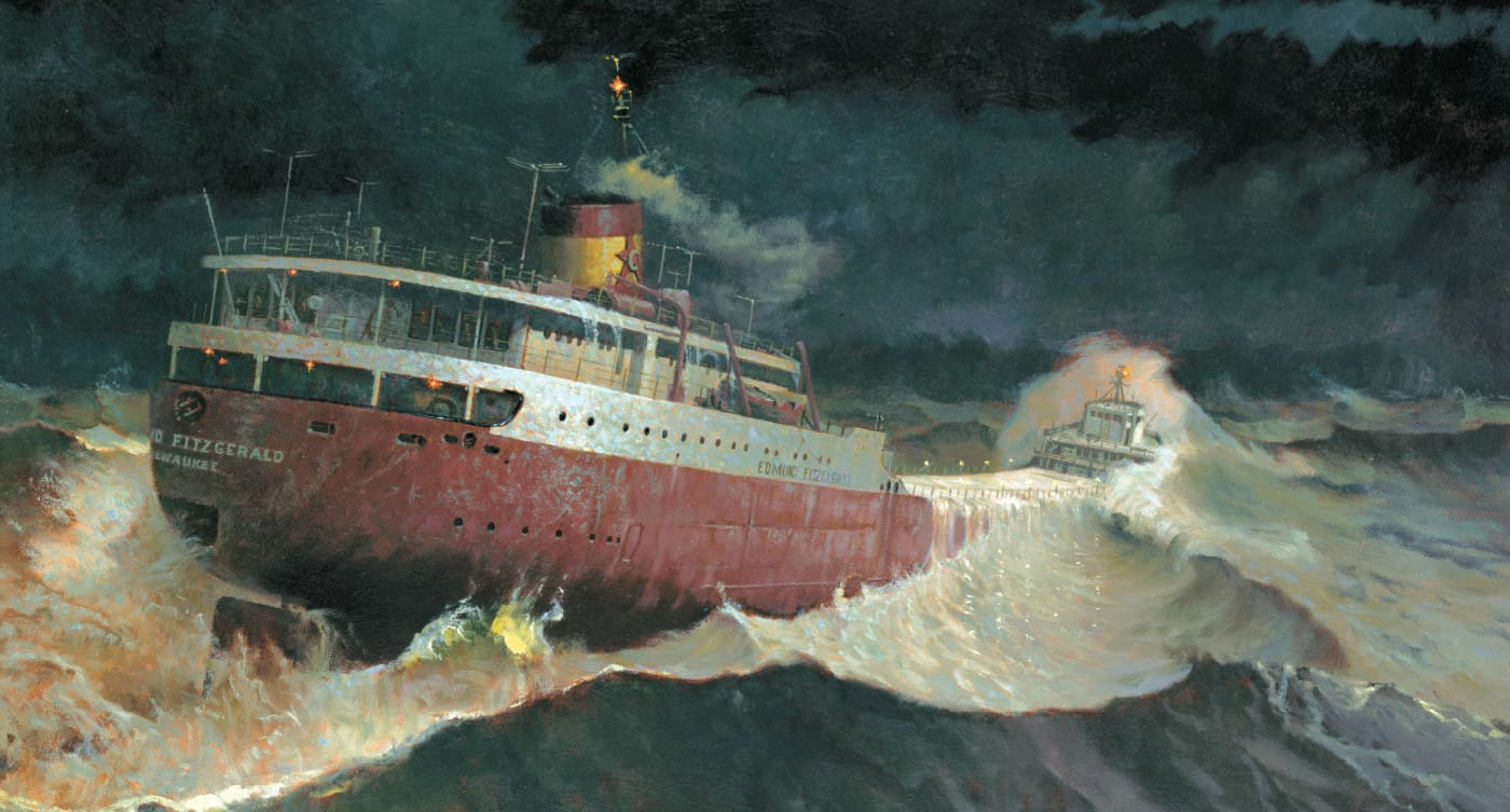 slide 01 Gales Of November Bring Shipwrecks To The Great Lakes