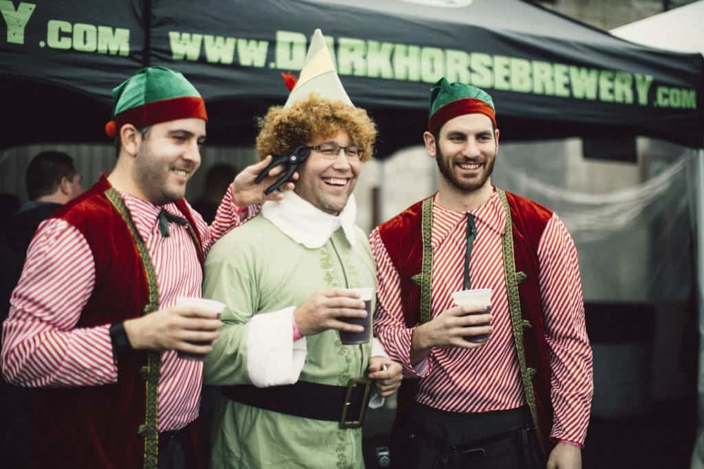 The Awesome Mitten - Dark Horse Brewing 4 Elf Party