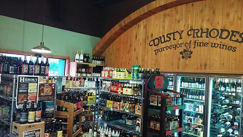 Dusty's Cellar shop.
