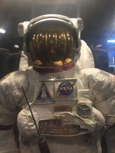 Space Suit at Air Zoo - The Awesome Mitten