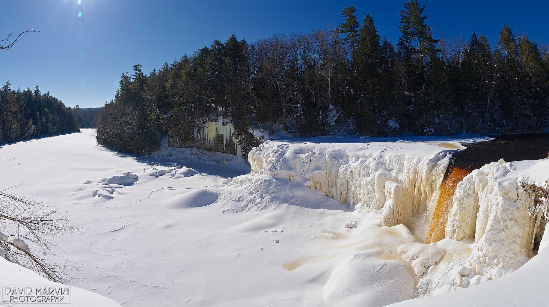 Tahquamenon Falls. Photo courtesy of Flickr user daveumich