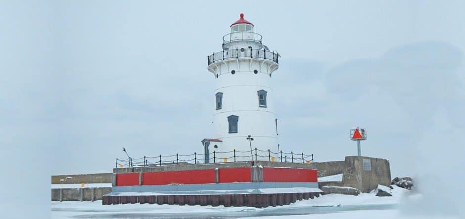 Harbor Beach Lighthouse. Photo courtesy of Harbor Beach Chamber of Commerce