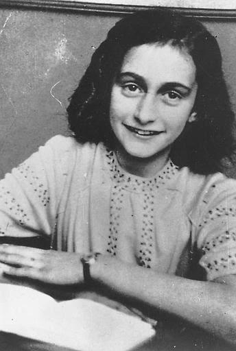 Anne Frank. Photo Courtesy of the Holocaust Memorial Center