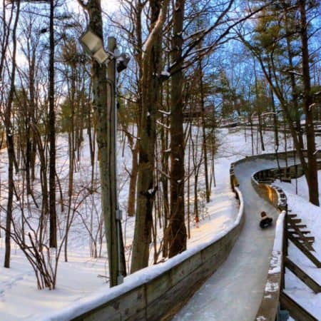 An Exhilarating Winter Activity: Muskegon Luge Track