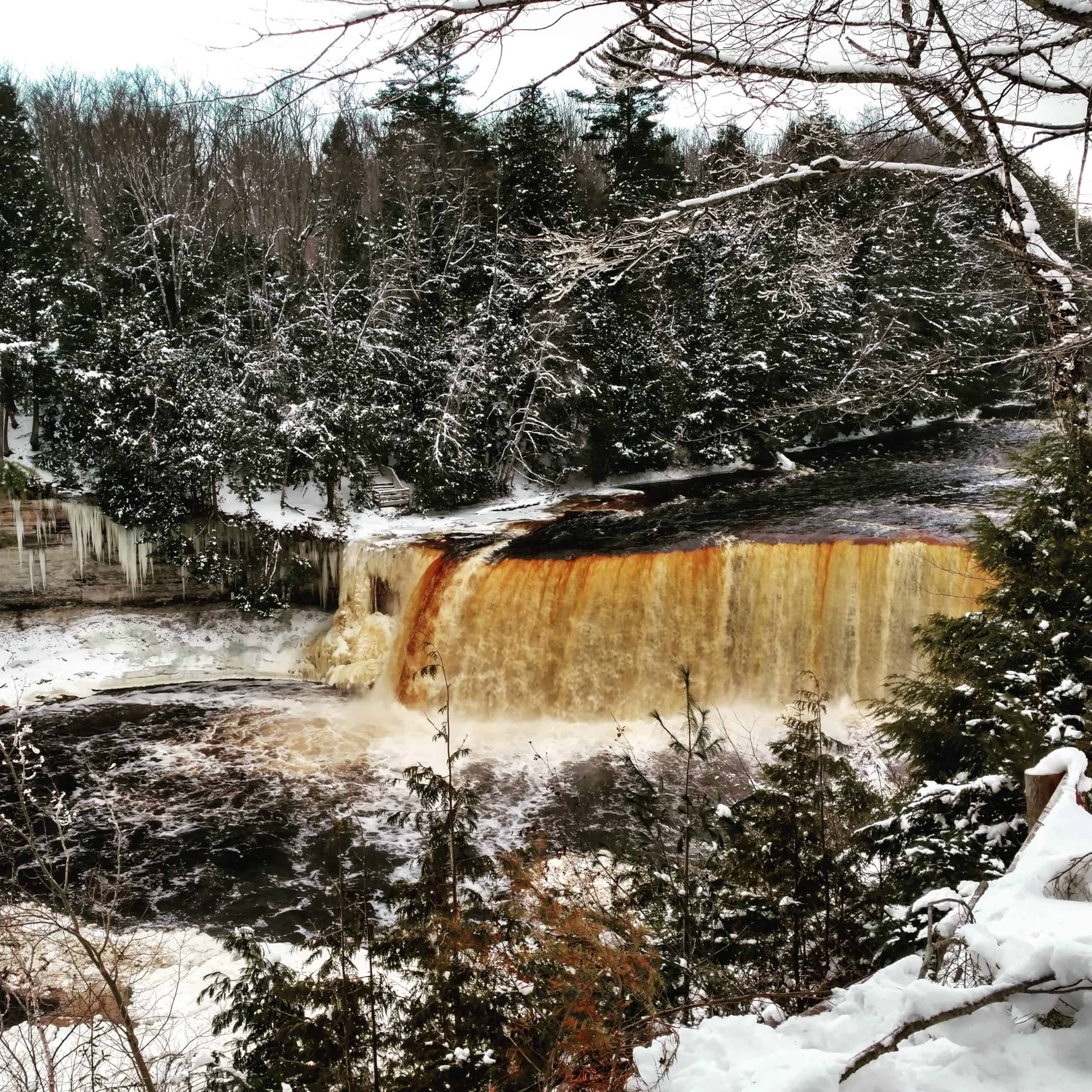 IMG 20161214 114447 scaled Winter Adventures At Tahquamenon Falls State Park