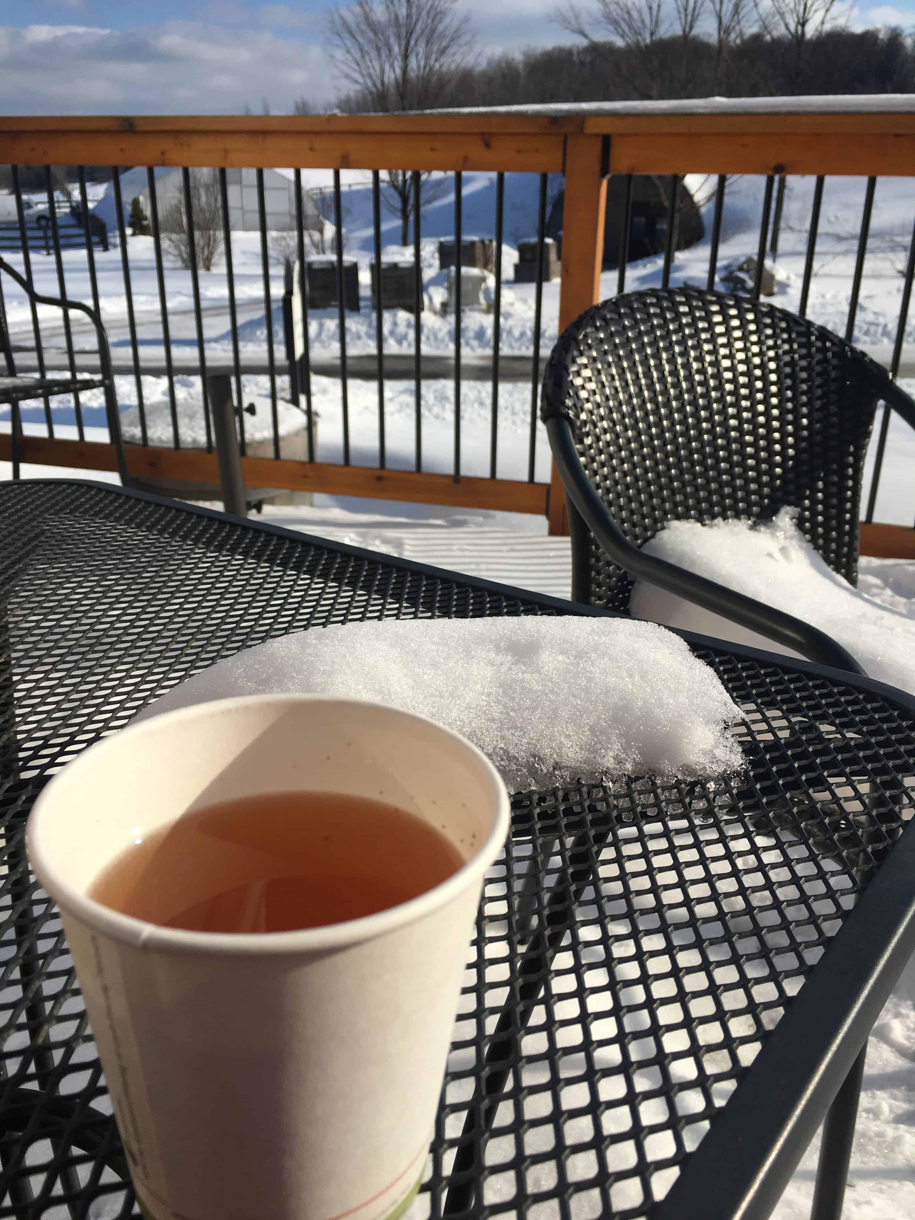 Mulled cider tastes so good outside. Photo courtesy of Jennifer Symons