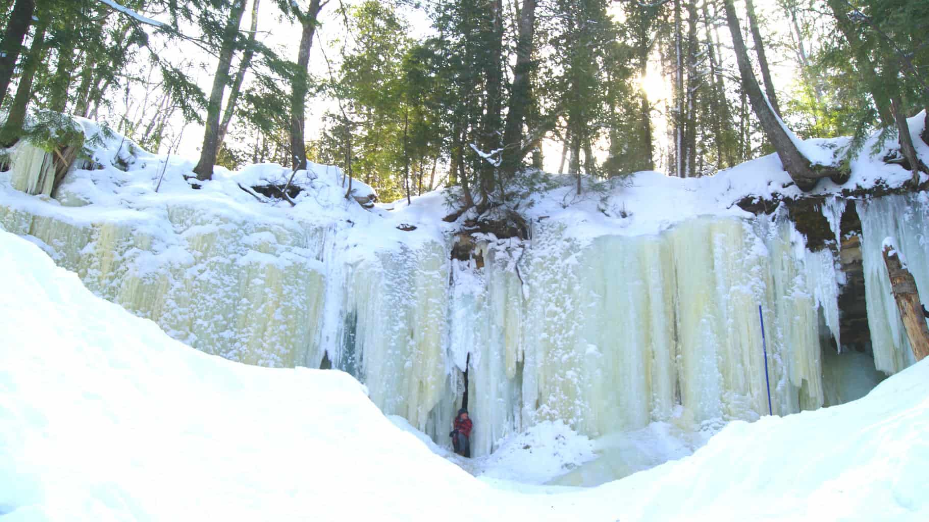 Exploring Rock River Canyon Ice Caves