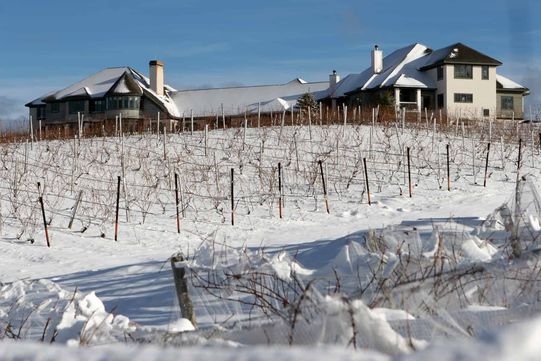 Chateau Chantal in the winter. Photo courtesy of Chateau Chantal