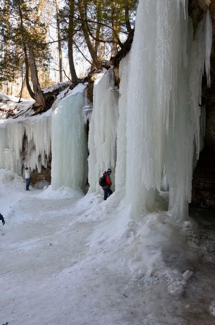 exploring eben ice caves