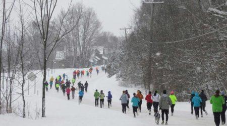 Inside Northern Michigan's BEST Winter 5k