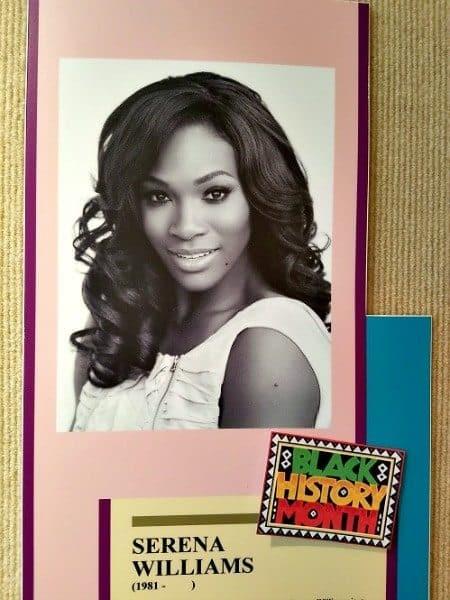 Women's History Month honoree Serena Williams