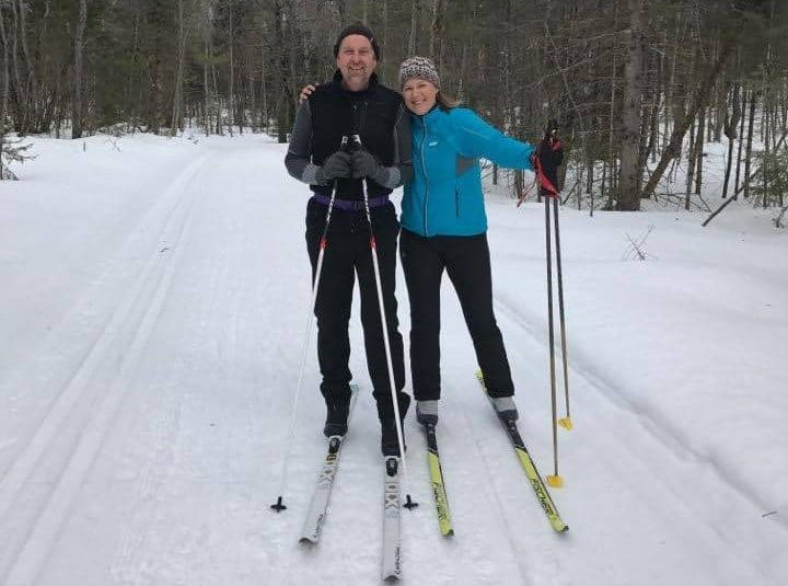 cross-country skiing - winter things to do in Michigan