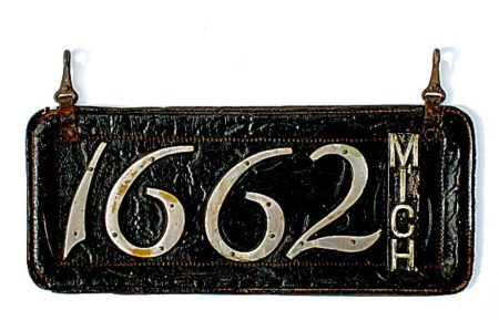A History Of Michigan's License Plates