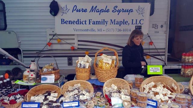 Benedict Family Maple, Vmaple syrup, ermontville, Michigan