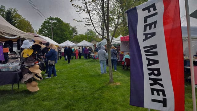 Vermontville Maple Syrup Festival flea market - The Awesome Mitten