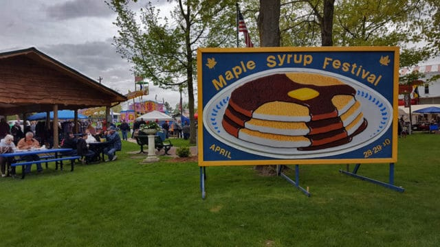 Vermontville Maple Syrup Festival, art fair - The Awesome Mitten