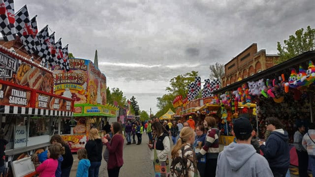 Vermontville Maple Syrup Festival, family fun at carnival - The Awesome Mitten