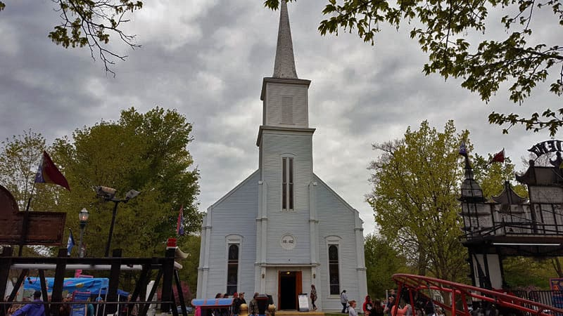 Vermontville First Congregational Church, historic - The Awesome Mitten
