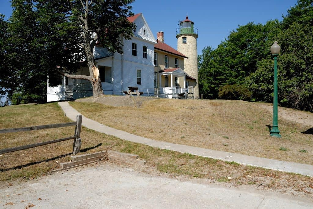 Beaver Island Head Lighthouse sits on the southern end of Beaver Island. Photo courtesy of Allen Lloyd