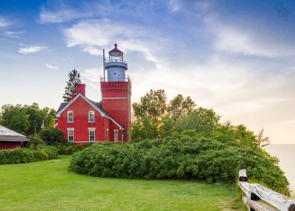 Big Bay Point Lighthouse in Big Bay near Marquette. Photo courtesy of Travel Marquette
