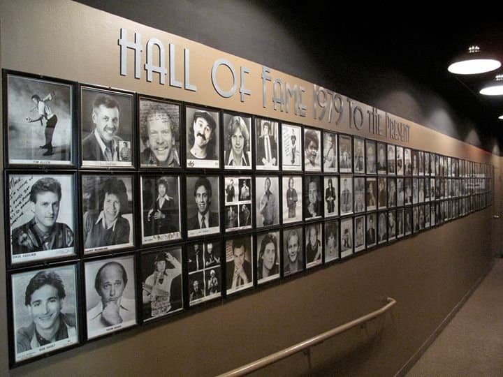Comedy Hall of Fame at Mark Ridley's Comedy Castle. Photo courtesy of Detroit A List