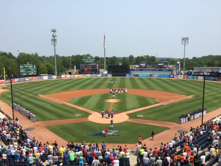 Fifth Third Ballpark in Comstock Park. Photo Courtesy of West Michigan Whitecaps - The Awesome Mitten