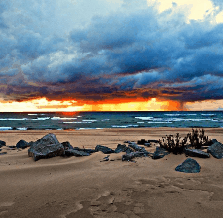 5 Spectacular Places To Watch Michigan Sunsets