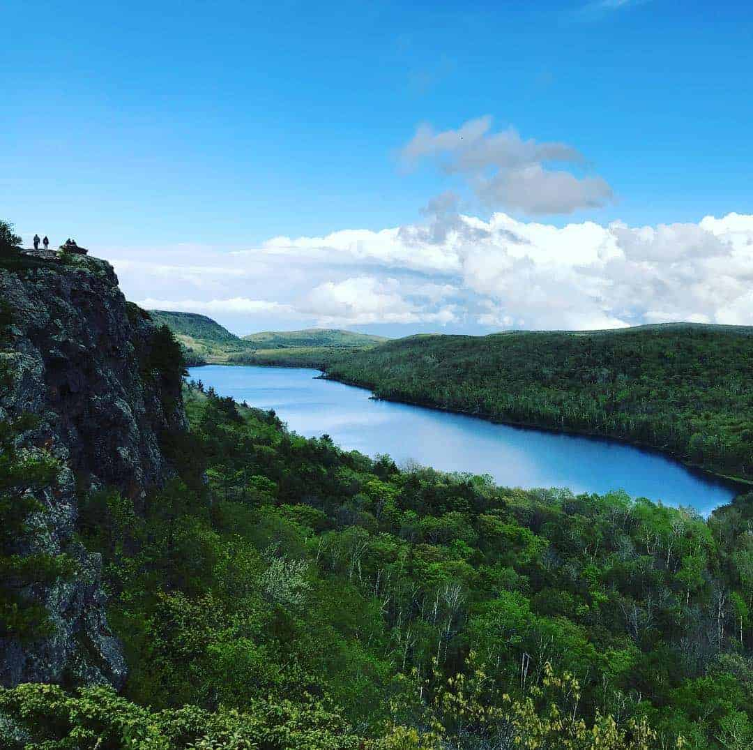 Lake of the Clouds in Ontonagon. Photo courtesy of Instagram user @splat_me - The Awesome Mitten