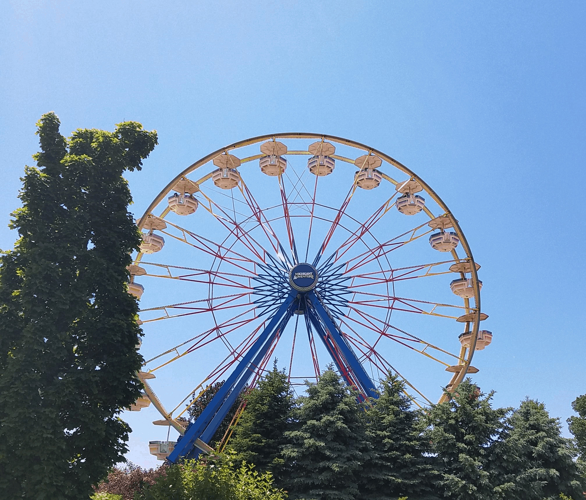 Michigan adventure ferris wheel