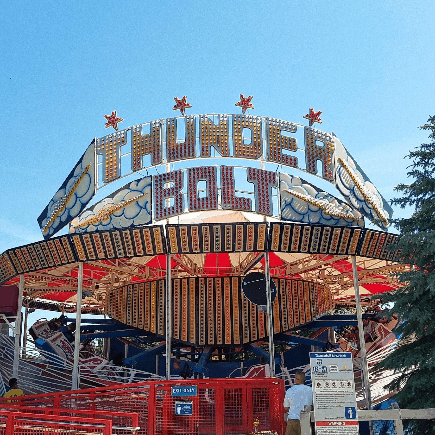 Michigan adventure amusement park rides