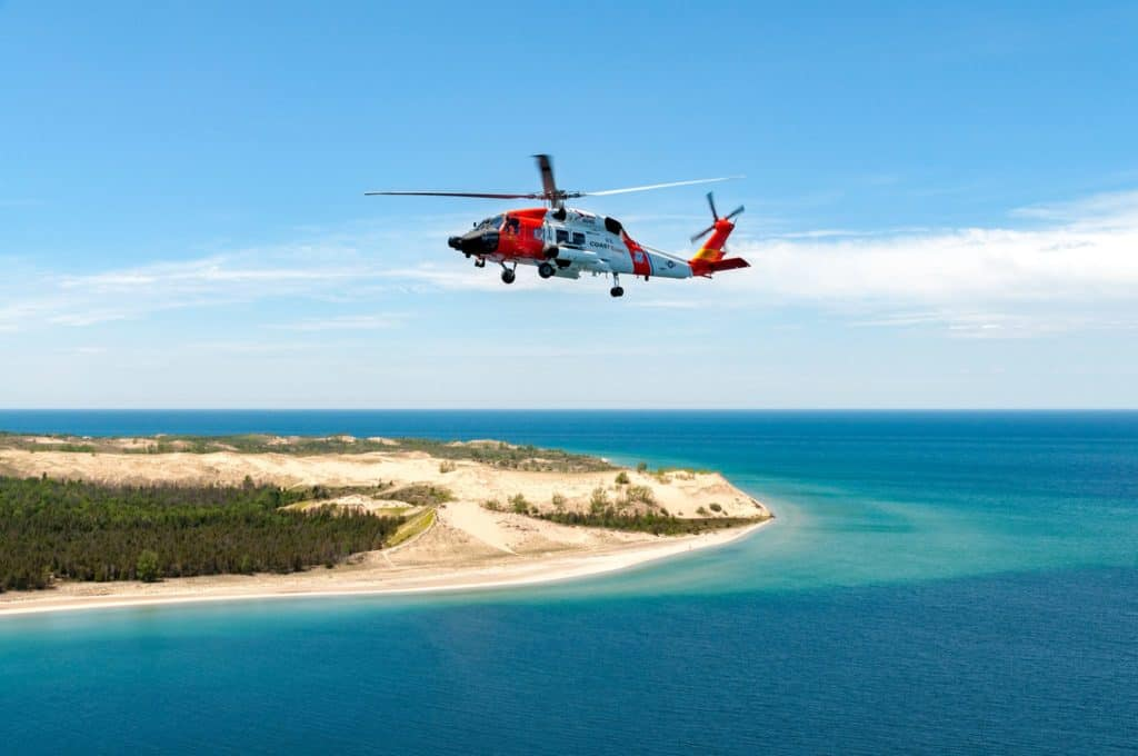 A Season Of Change For Coast Guard Air Station Traverse City - The Awesome Mitten