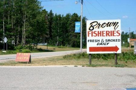 Eat Fresh at Brown Fisheries Fish House