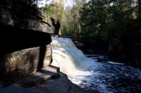 Hike to Beautiful Canyon Falls in Michigan's Upper Peninsula
