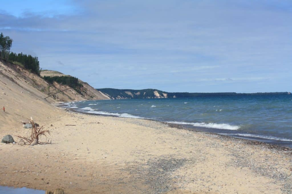 One of many peaceful Lake Superior beaches. Photo courtesy of Samantha Ward - The Awesome Mitten