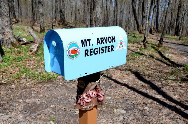 Mt Arvon Mailbox
